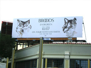 Broods Billboard